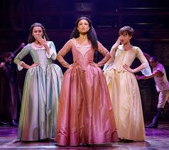 Angelica, Eliza. . . and Peggy!