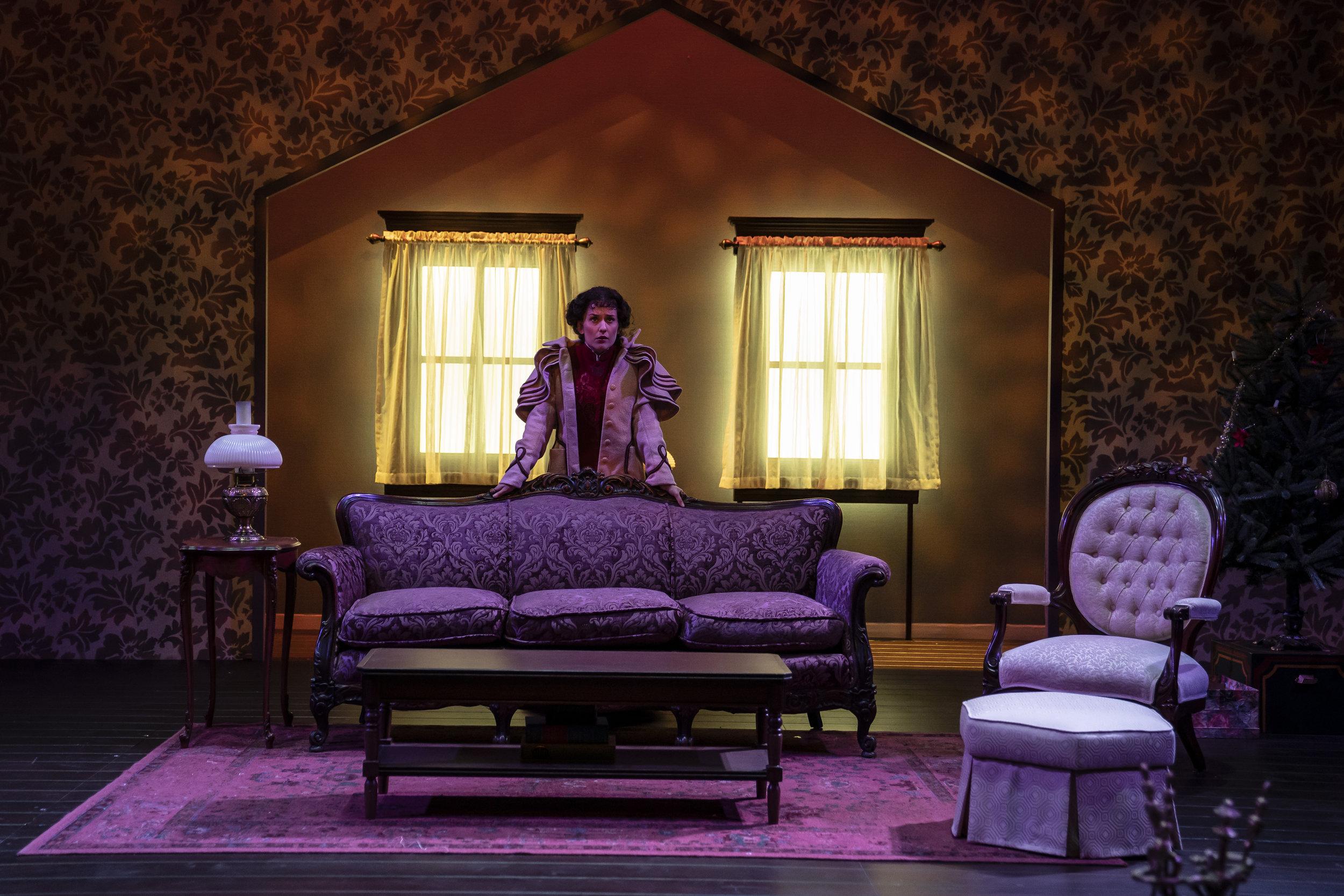 "Kelsey Brennan as Nora in ""A Doll's House."" Photo by Liz Lauren."