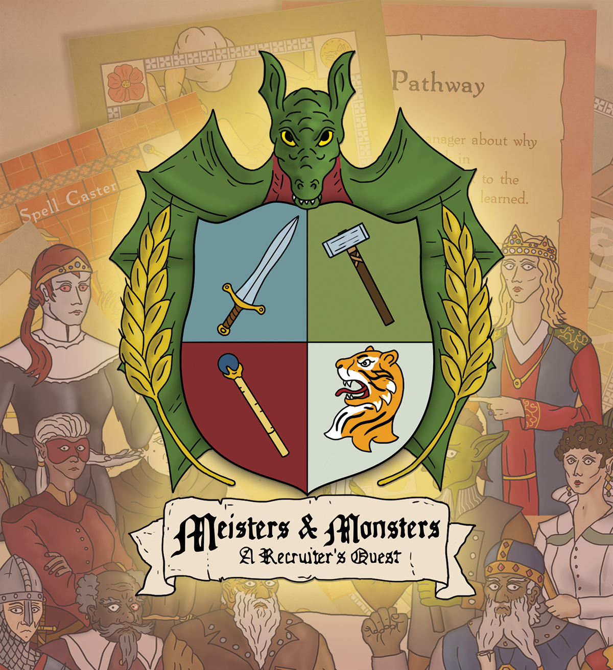 Meisters and Monsters: A Recruiters Quest - Recruitment Training Board Game
