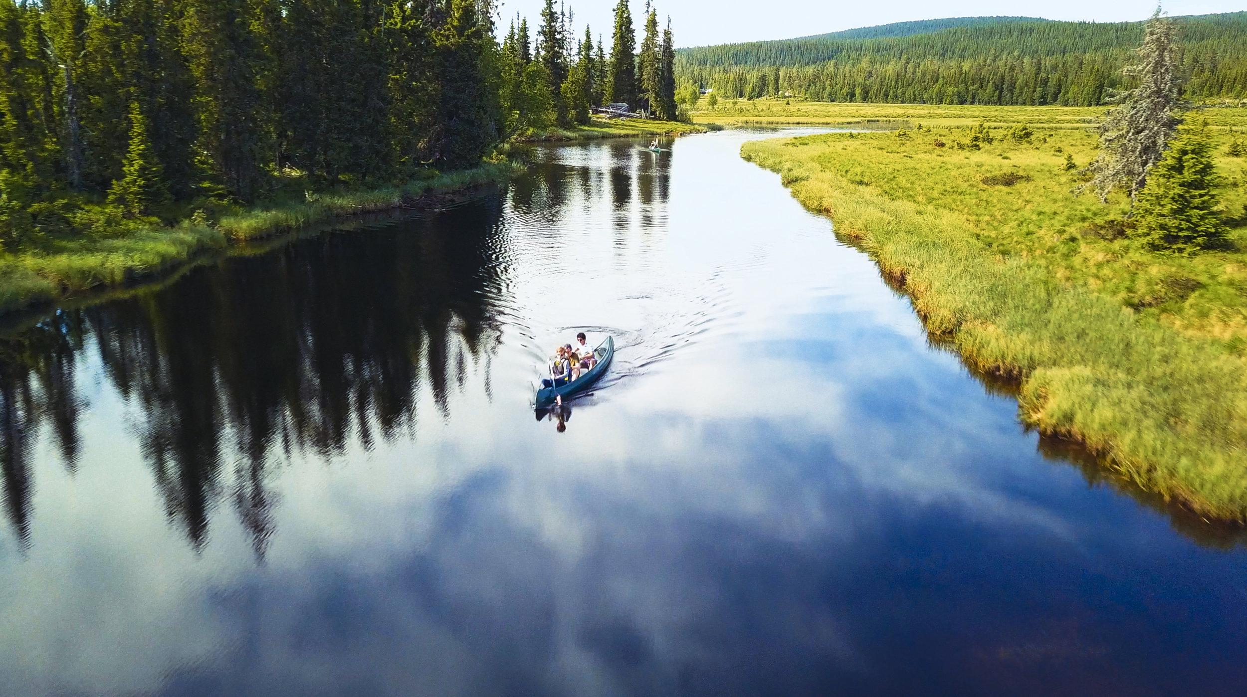 Canoe rental elva Åsta Åstdalen