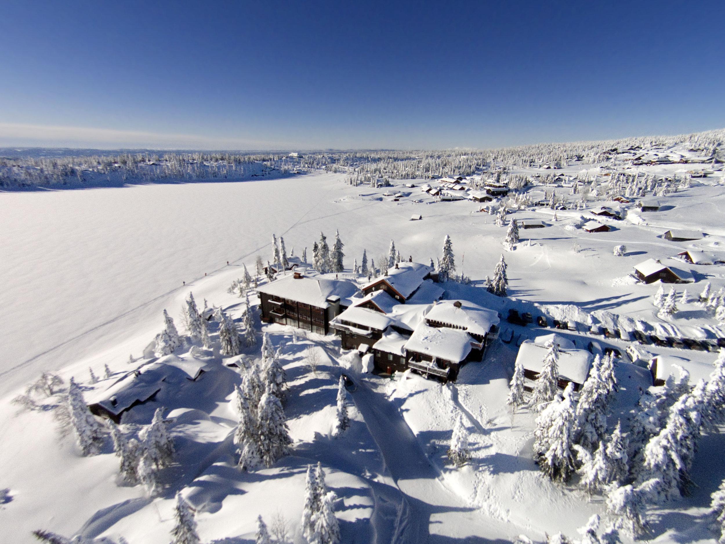 Sjusj�en 18.2.2014 DRONE Rustad Fjellstue, Sjusj�en Sport!, Pihl , Skistadion Foto: Geir Olsen