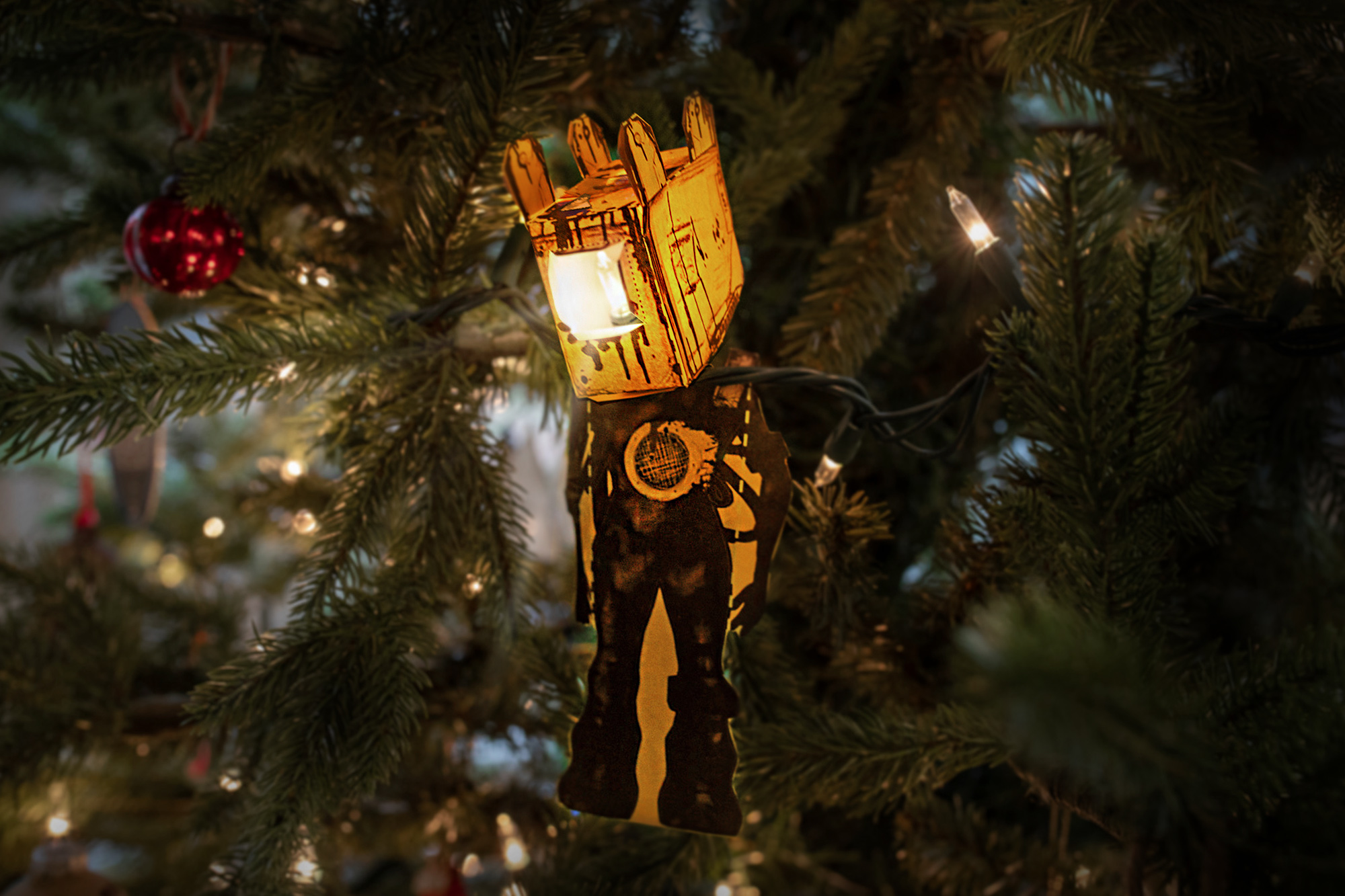 Bendy Projectionist Ornament