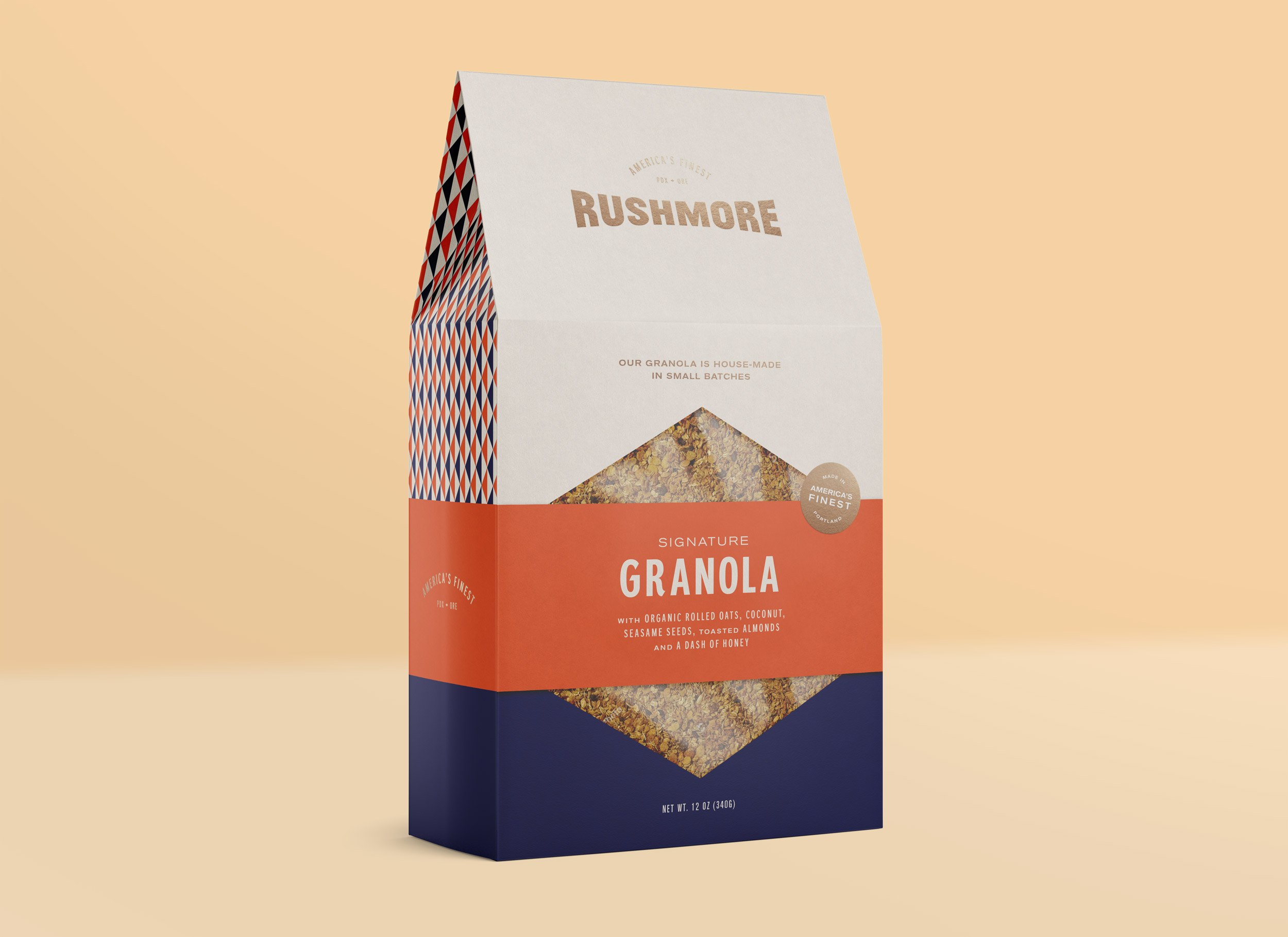 Rushmore Baking   Branding, Packaging + Collateral