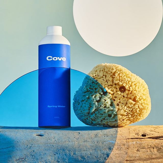 End plastic pollution. @cove is the first bottle of water made entirely of biodegradable material #drinkcove