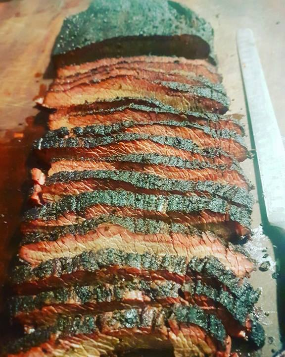The 11 hour brisket - totally worth it!