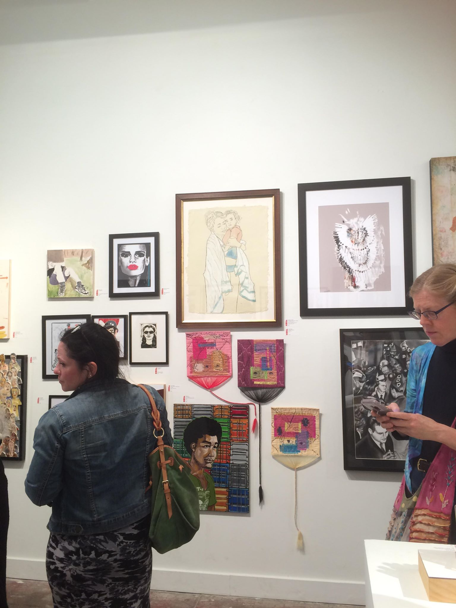 First Thursday opening reception at CoCA