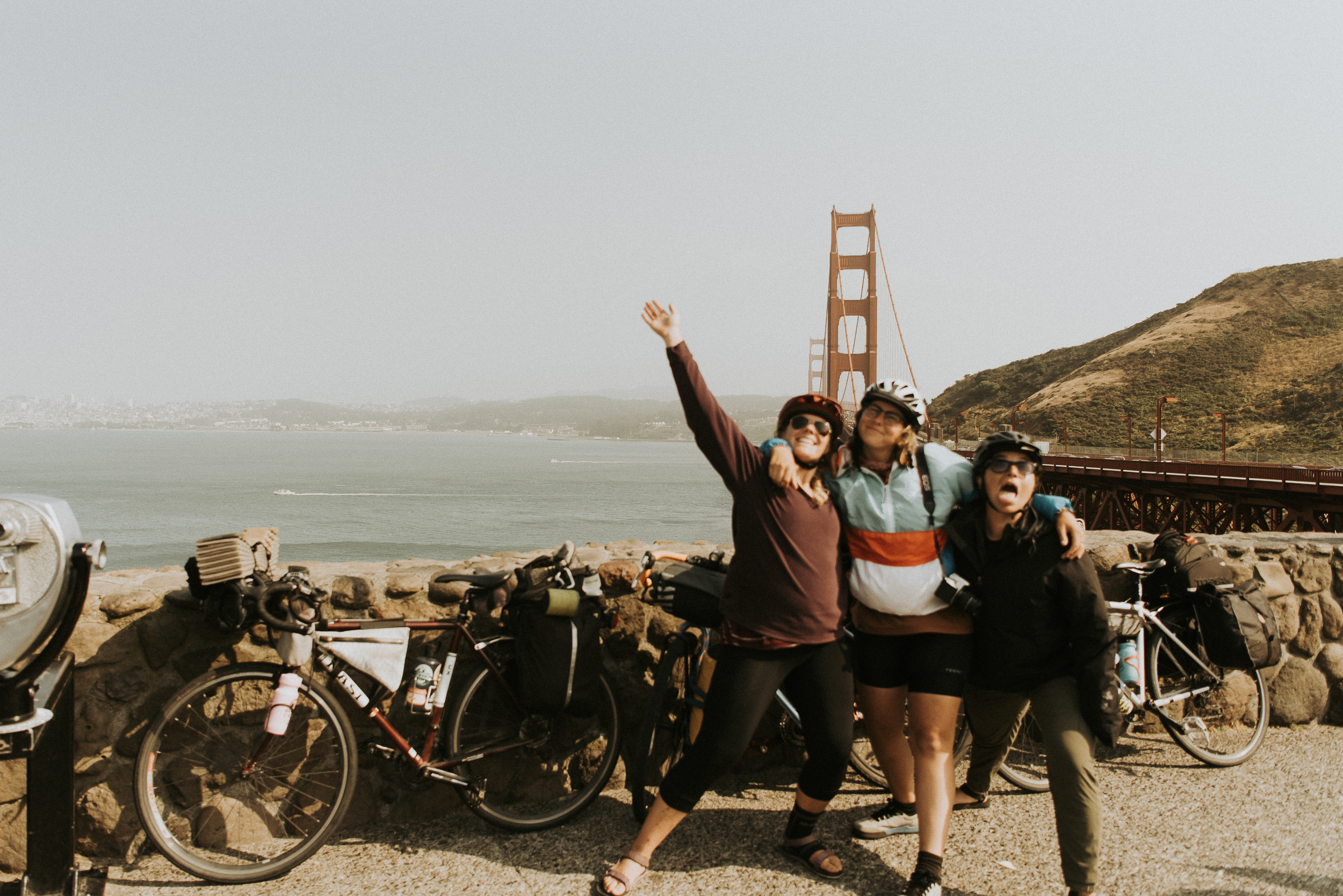 last day of the bike tour