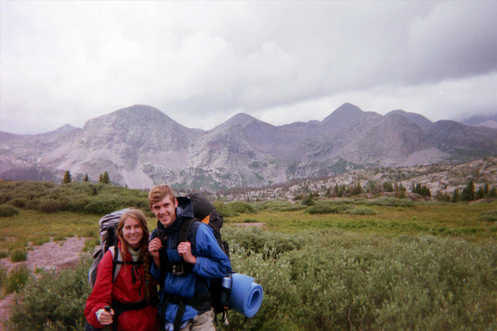 my first ever backpacking trip - weminuche wilderness