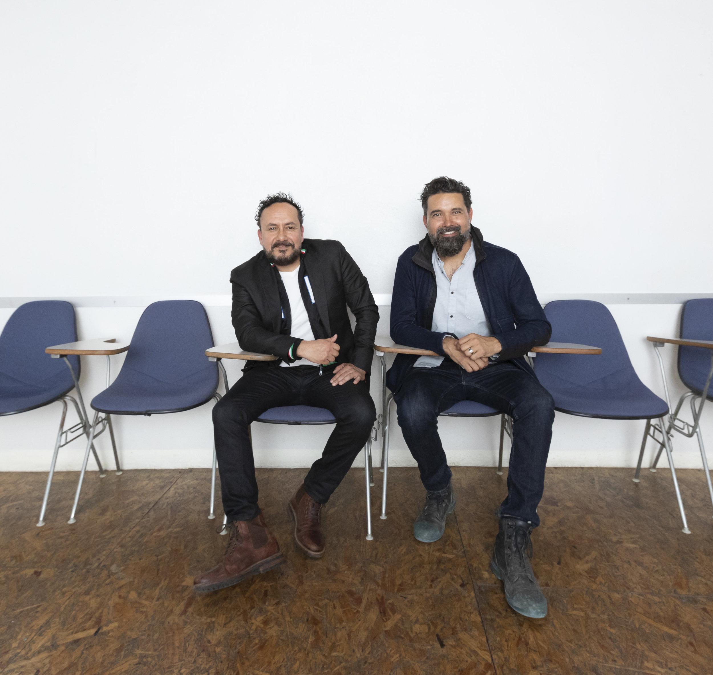 Aaron Gutierrez and Jorge Gracia