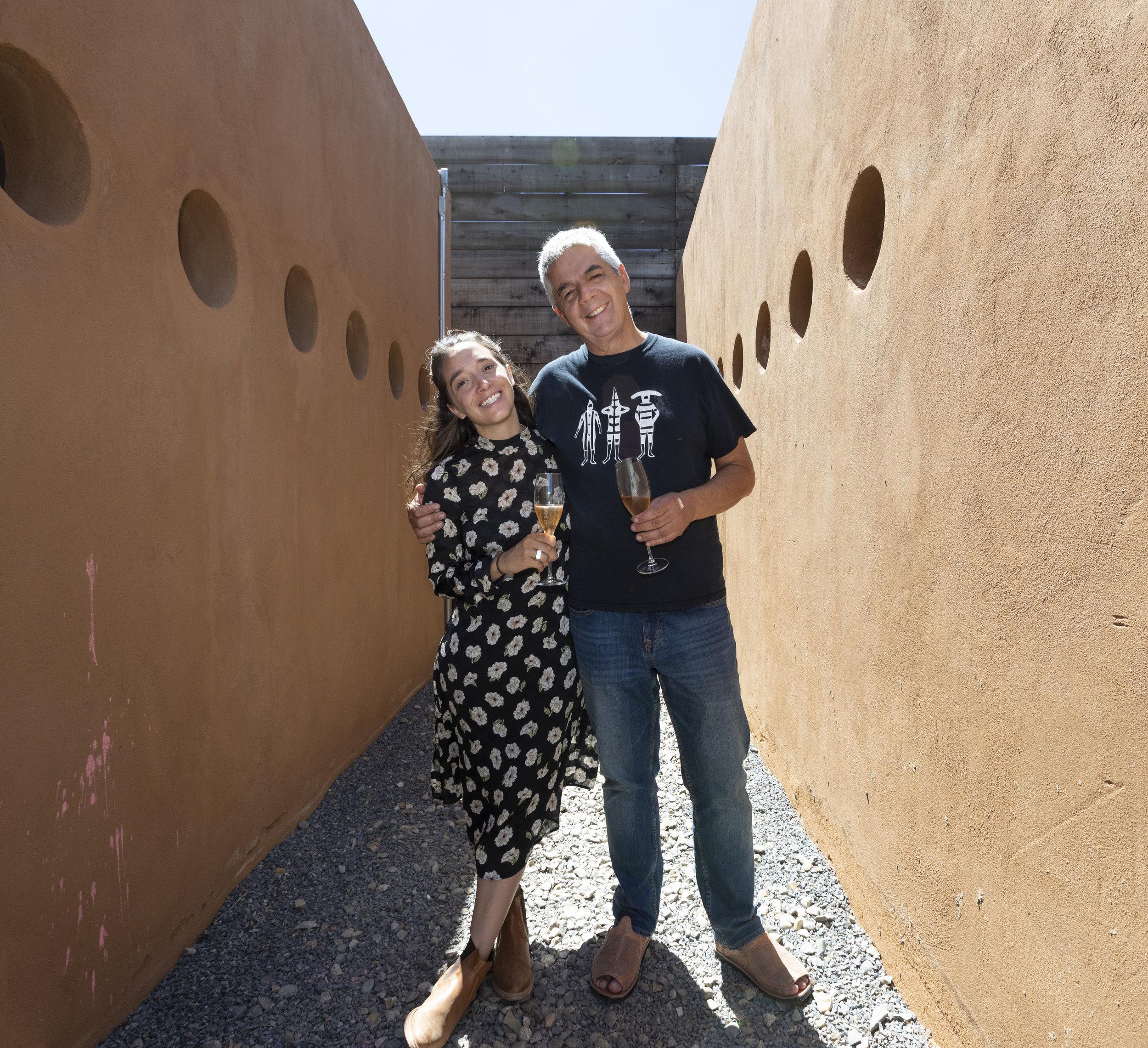 Hugo D'Acosta and Daniela D'Acosta