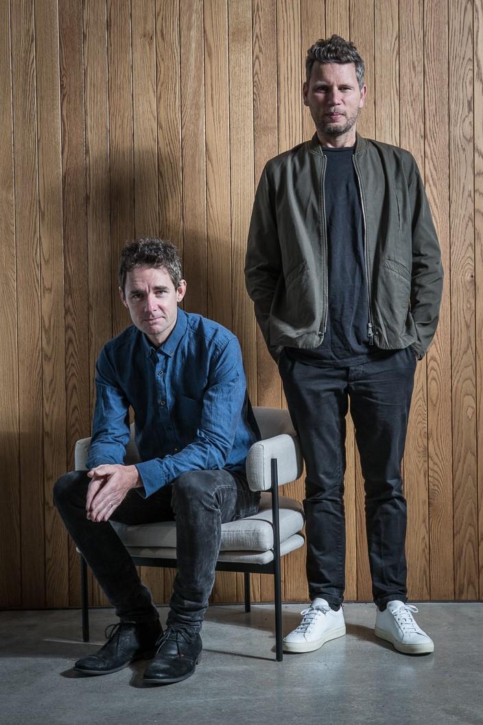 Simon James and Scott Bridgens