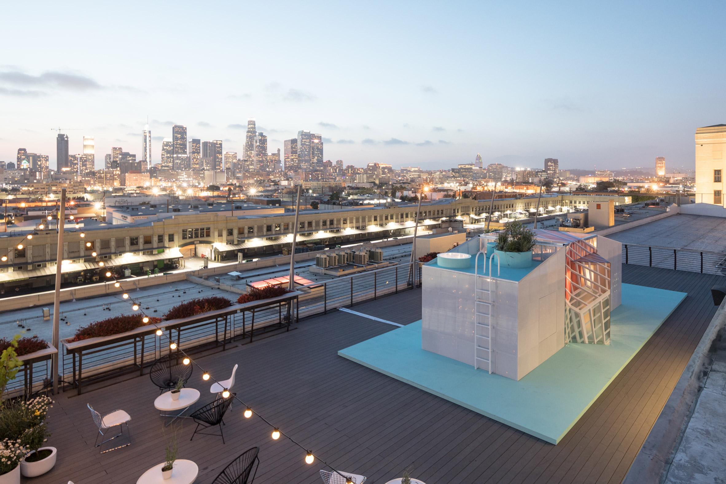 The MINI LIVING Urban Cabin from LA Design Festival 2018. Photo credit: Laurian Ghinitoiu, courtesy of    Dezeen x MINI LIVING