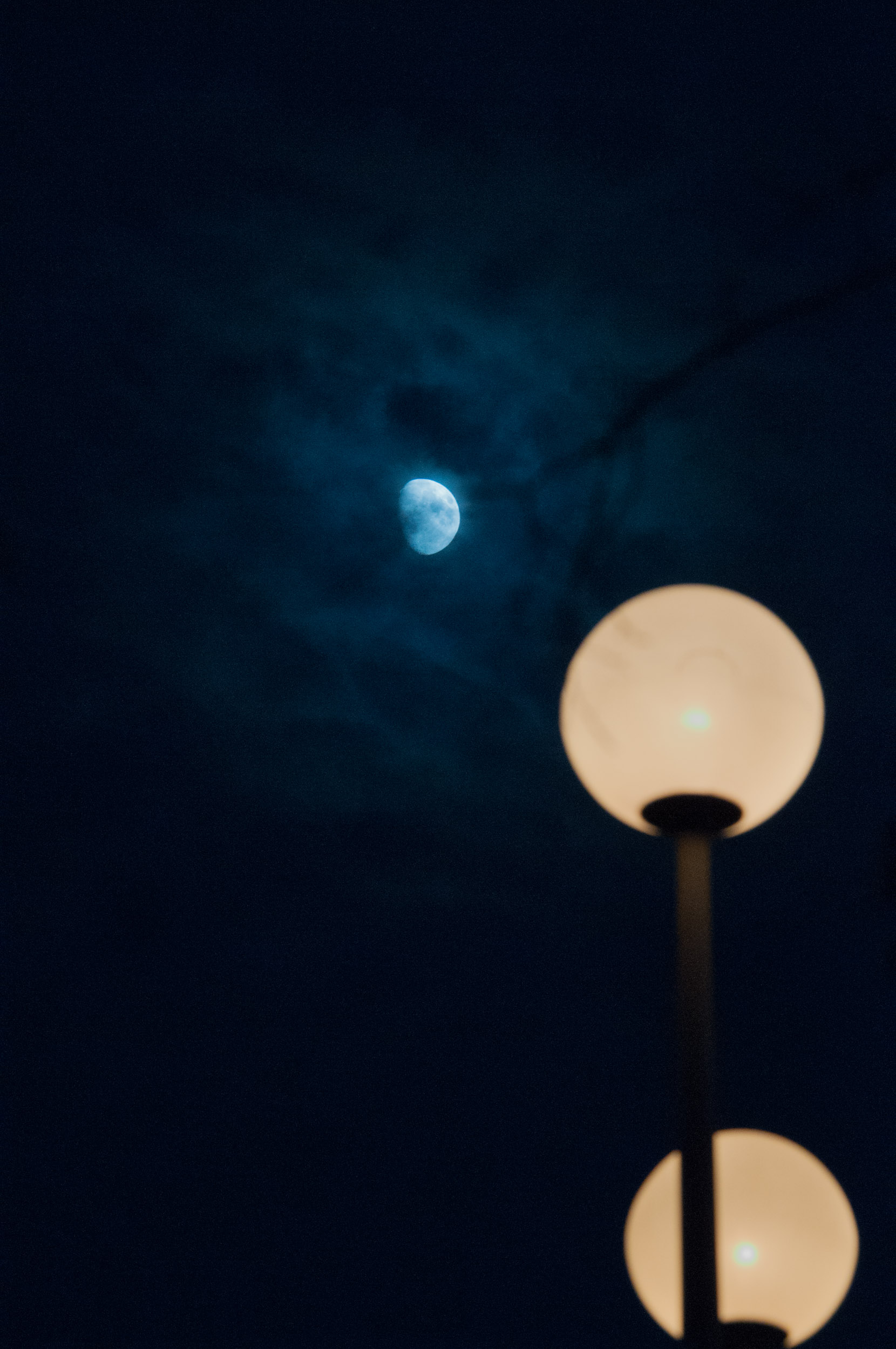 Moon, Saratoga Springs, 2017