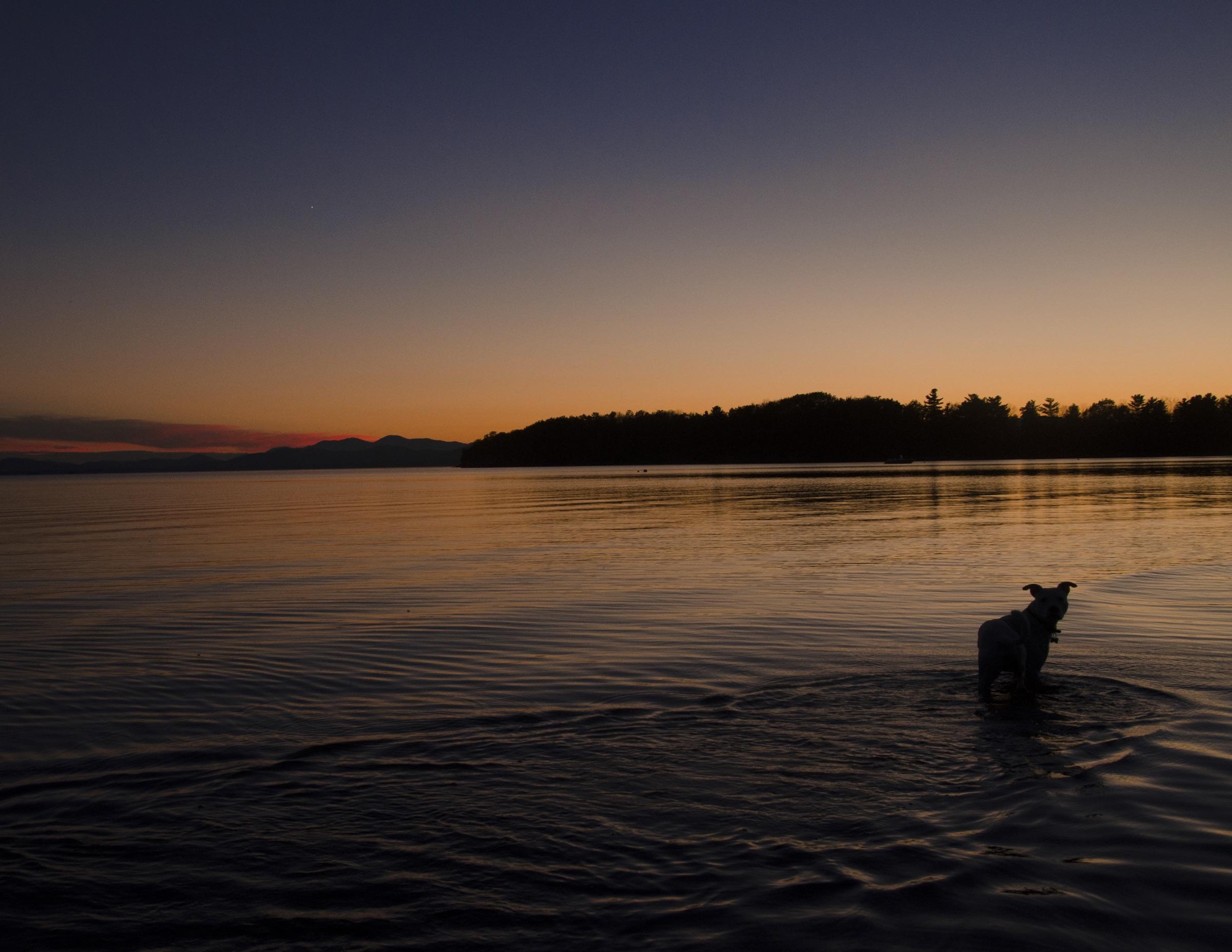 Lake Champlain, Vermont,2015