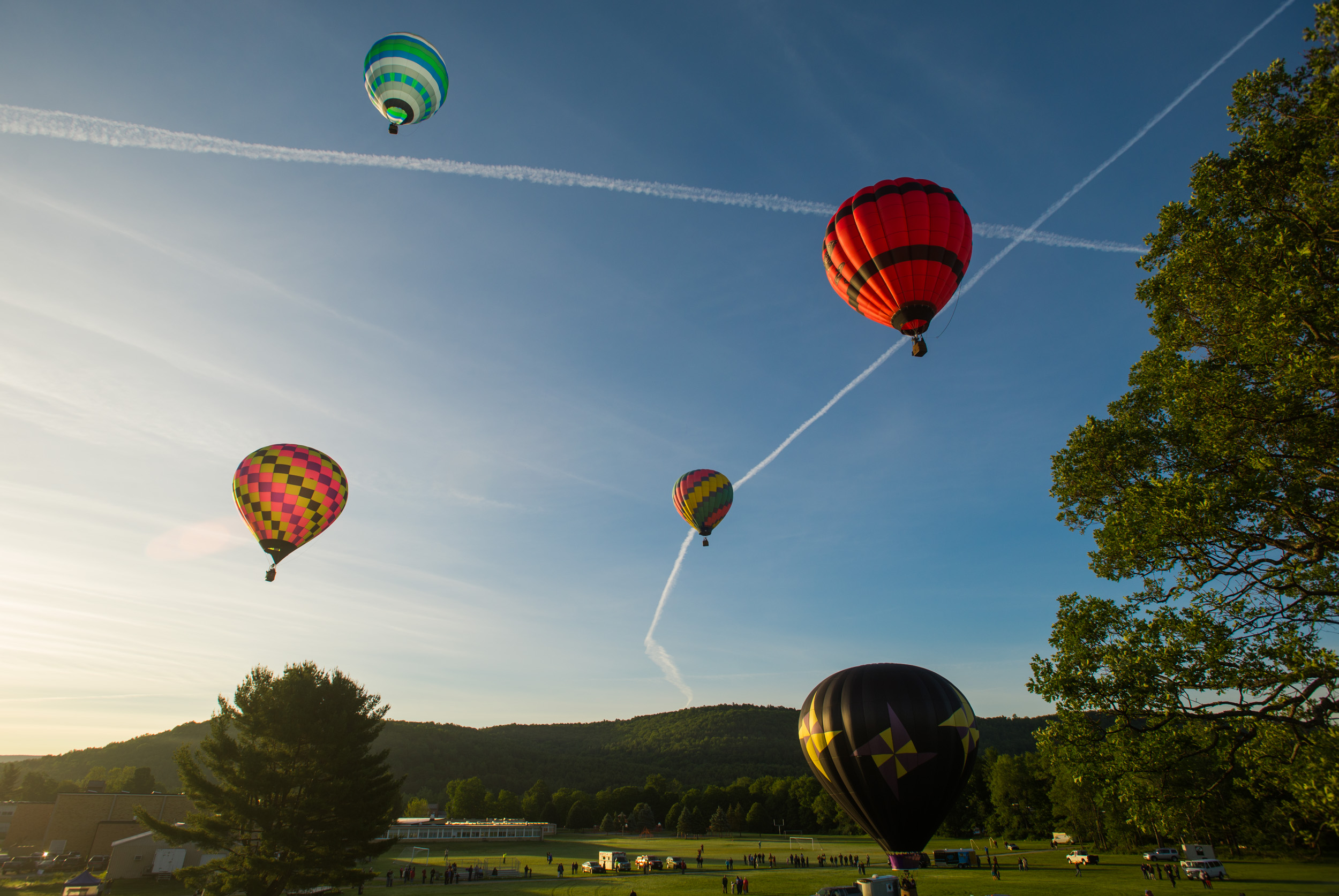 Cambridge (NY) Balloon Festival, 2015
