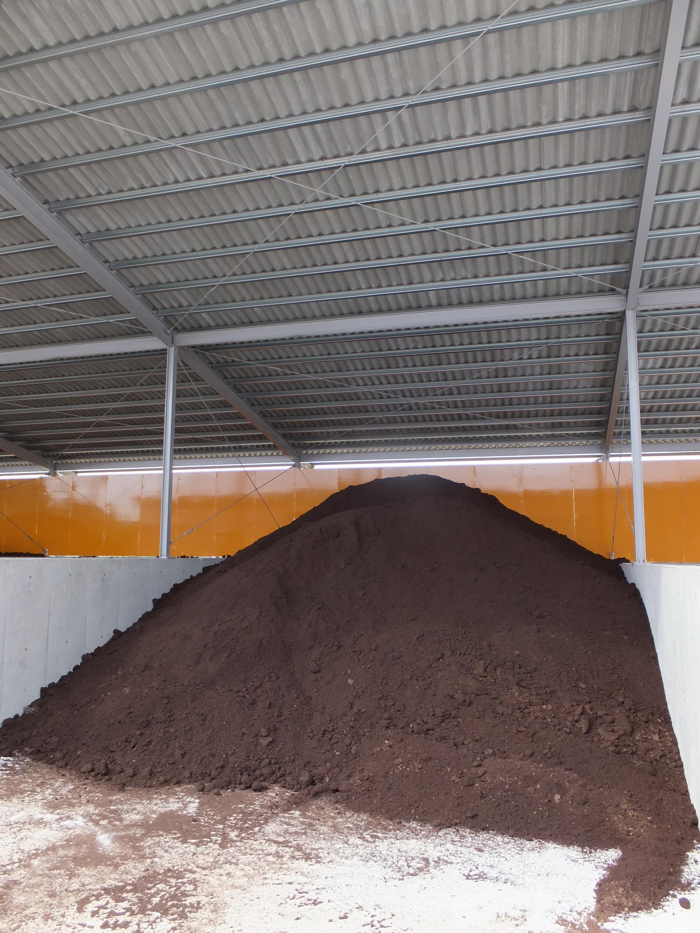 Pre-Composting Room