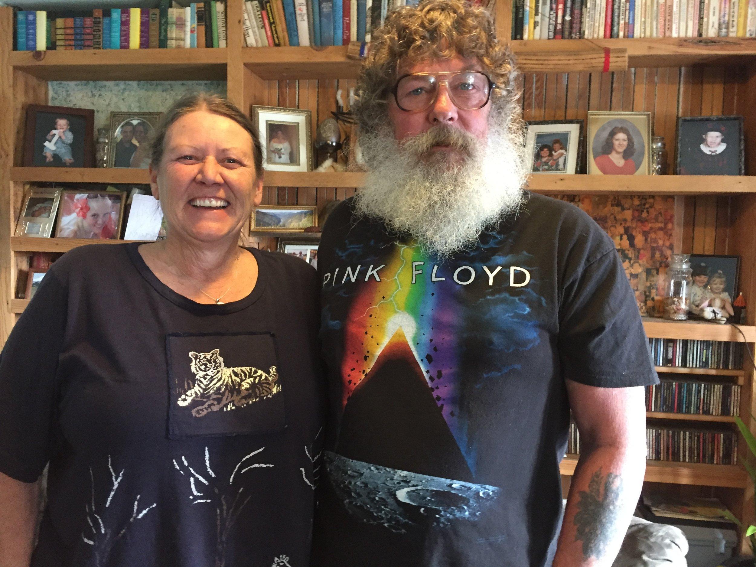 Marvina and Doug Randle of Glenwood, Wash.