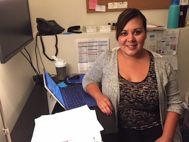 Judy Villalobos, MSW, works in behavioral health at our School-Based Health Center located onsite at Hood River Valley High School.