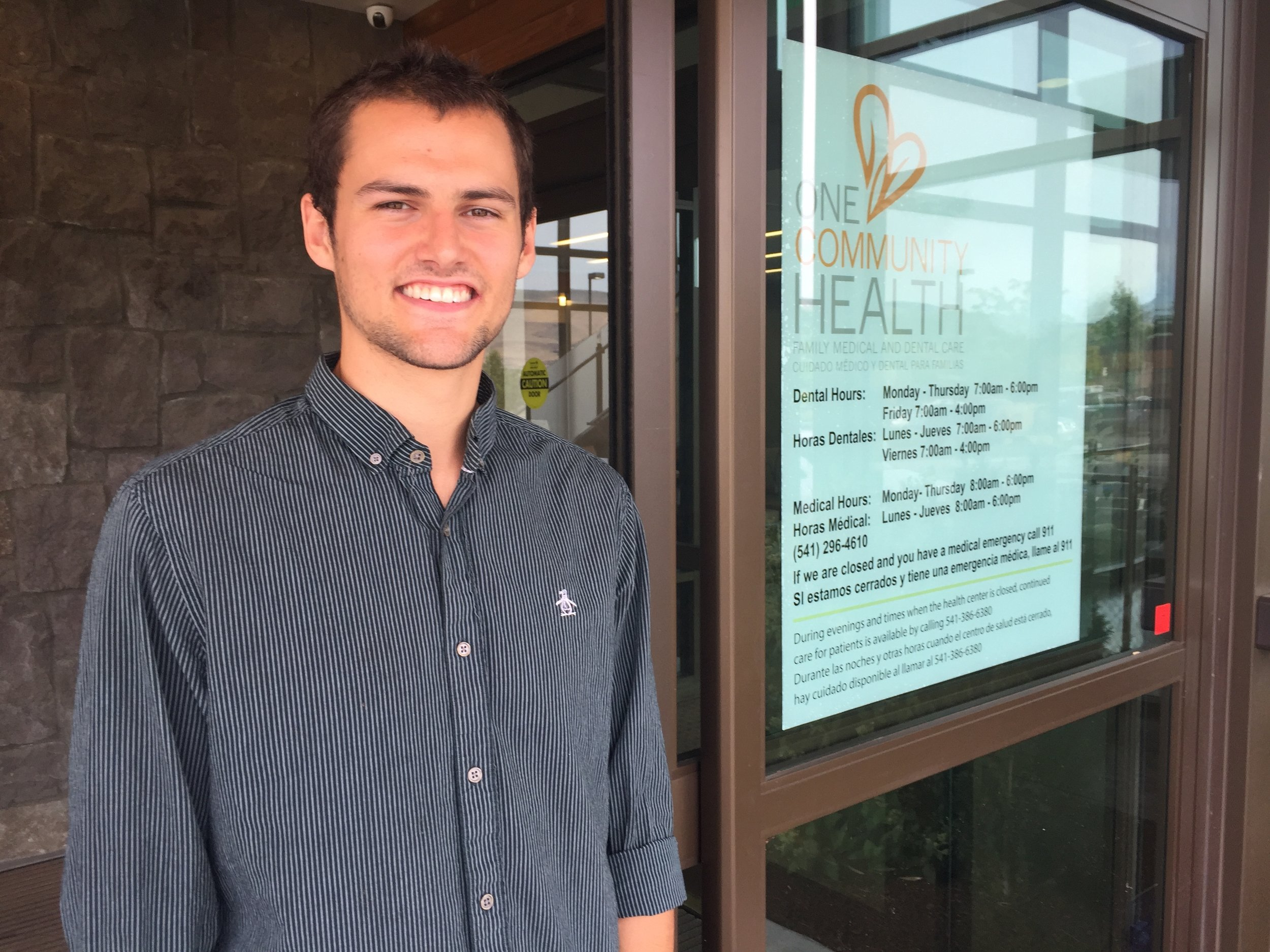 Colin Noonan at One Community Health in The Dalles.