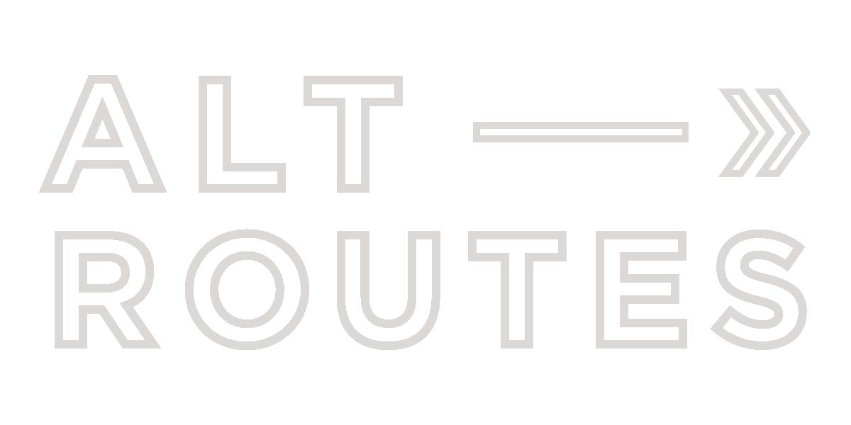 Alternate Routes Logo- Adventure Company Logo- Alternate Routes