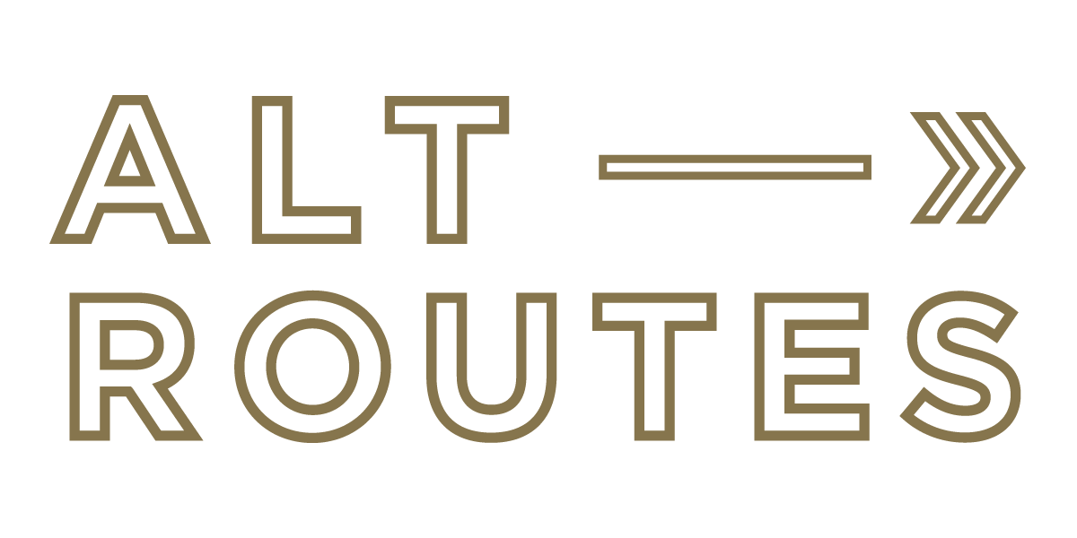 Alternate Routes Adventure Company Logo