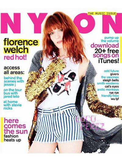 NYLON May 2011