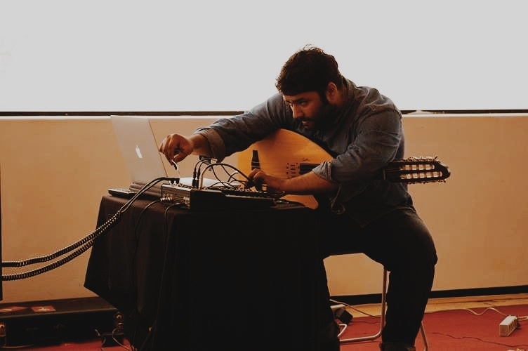 √(Taqasim) For Electric Oud And Laptop Factory 593 in Seoul, South Korea (July 13, 2013)