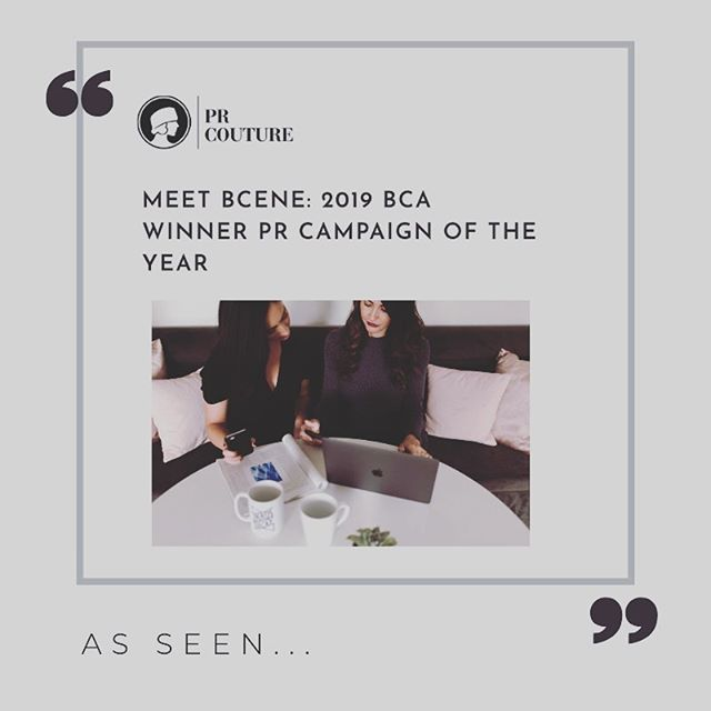 ⭐AS SEEN⭐⠀⁠ wow wow wow - I'm not crying - you're crying....we were super pumped to be awarded the 2019 PR Campaign of the Year for the @prcouture Bespoke Communications Awards.⠀⁠ -⁠ Katherine and I were joking today that the better half of this year has been nothing short of organized chaos. We're a young company and in the midst of scaling our portfolio, processes and technology. It hasn't always been pretty and it's far from perfect, but we've learned to ride the highs and hang on tight as the lows will pass.⁠ ⁠ -⁠ Check the full story with the link in our bio.⁠ -⠀⁠ #inspo #theeverygirl #womeninbusiness #seekthesimplicity #thehappynow #nothingisordinary #prlife #acreativeDC #livethelittlethings #momentslikethese #makersgonnamake #girlpreneur #thegoodlife #igdc #community #calledtobecreative #contentcreators #womeninbusiness #dccreatives #makersmovement #getinspired#girlboss #madeindc #wisewords #ourthoughts #imadethis #theotherdc #bossbabes⁣ #PRcouture⁠ ⁠