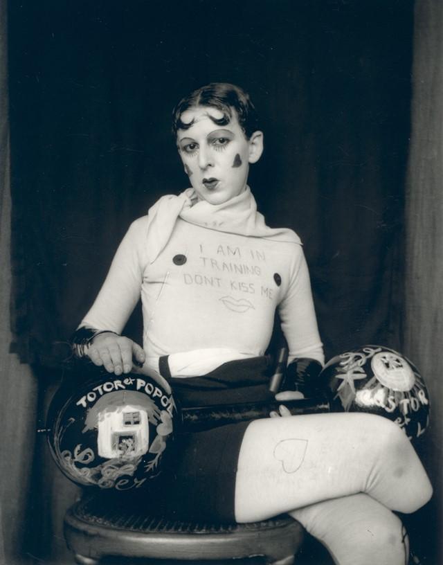 Claude Cahun,  Self Portrait  (1927)