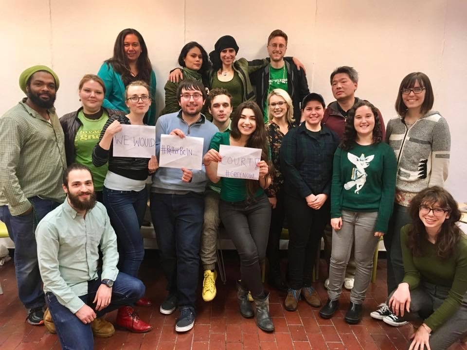 Alex, 21 With Columbia Green Owl: Students for Earth Rights and Sustainable Living