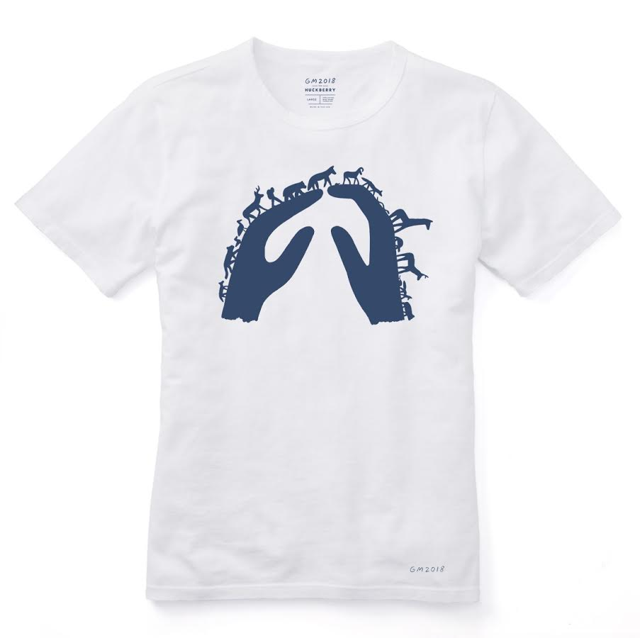 April 2018:  Online outdoor shop Huckberry released a limited edition    Earth Day tee    featuring artwork from    Geoff McFetridge    that supported Our Children's Trust and #youthvgov.