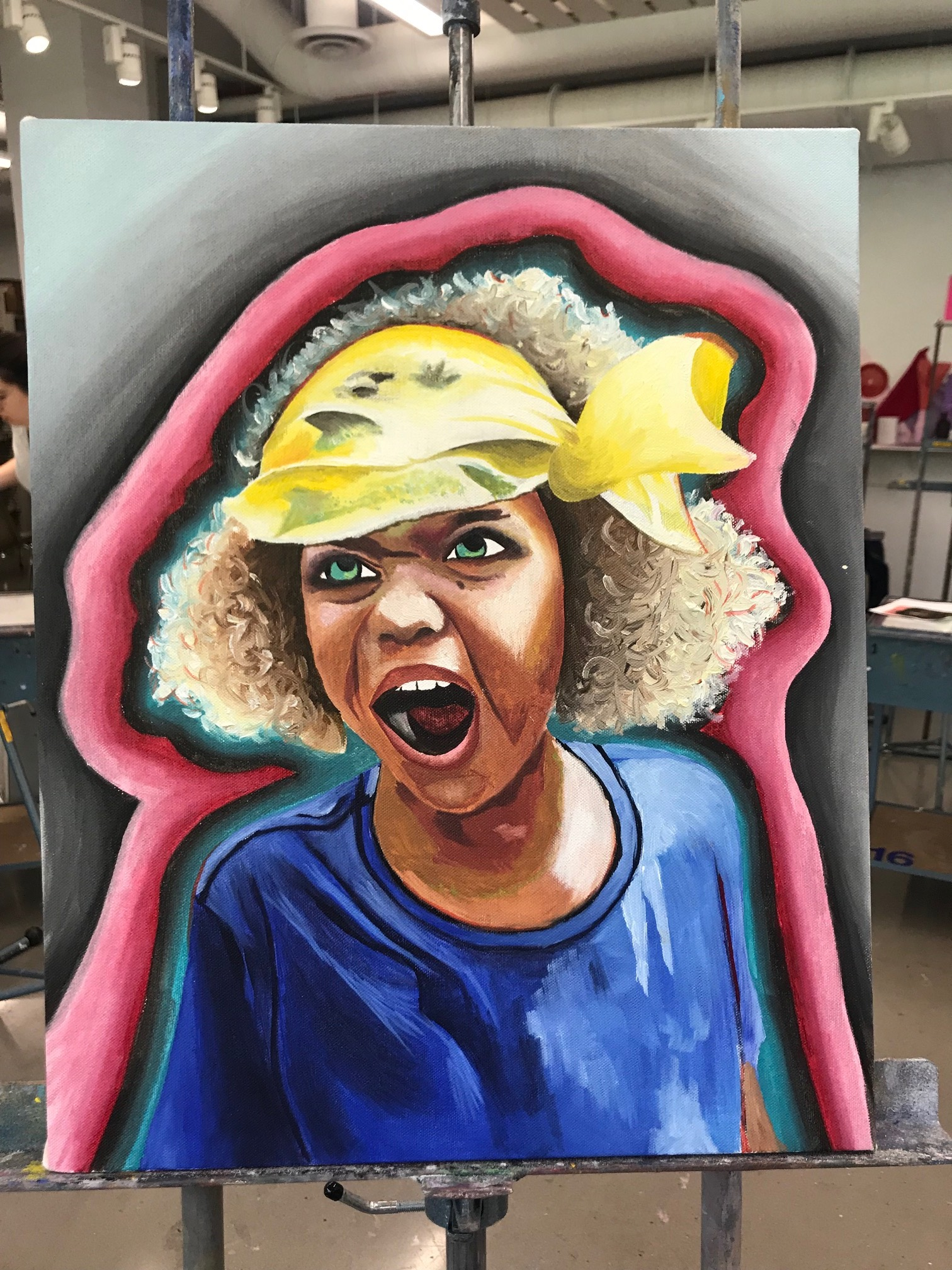 May 2019: A beautiful piece of art from Maya Benatar, a junior at Northwestern University!