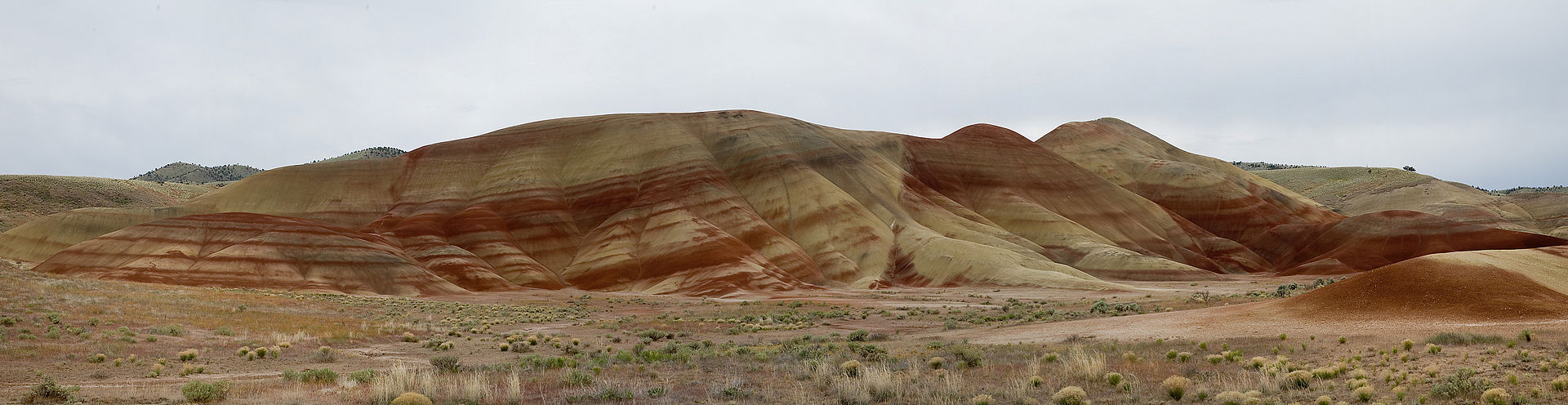 The Painted Hill in Oregon.