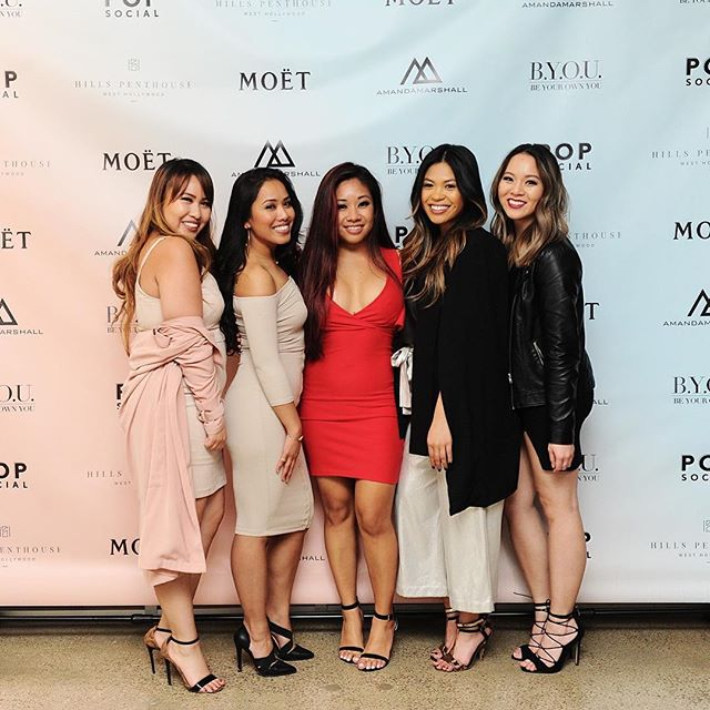#BYOUlife - Be exactly who you are 💛  Thanks to these ladies from the #Beautycon team for celebrating with us!