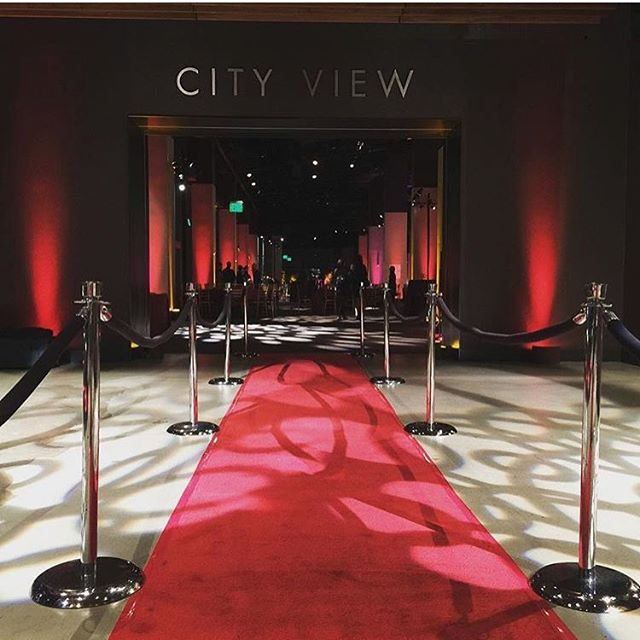 Thank you City View for having the Gatsby team three nights in a row! We love our partners who helped us  throw these epic events!