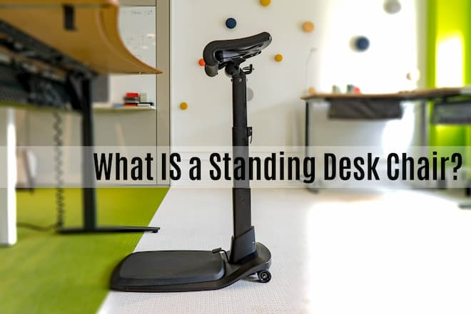 The LeanRite Elite standing desk chair