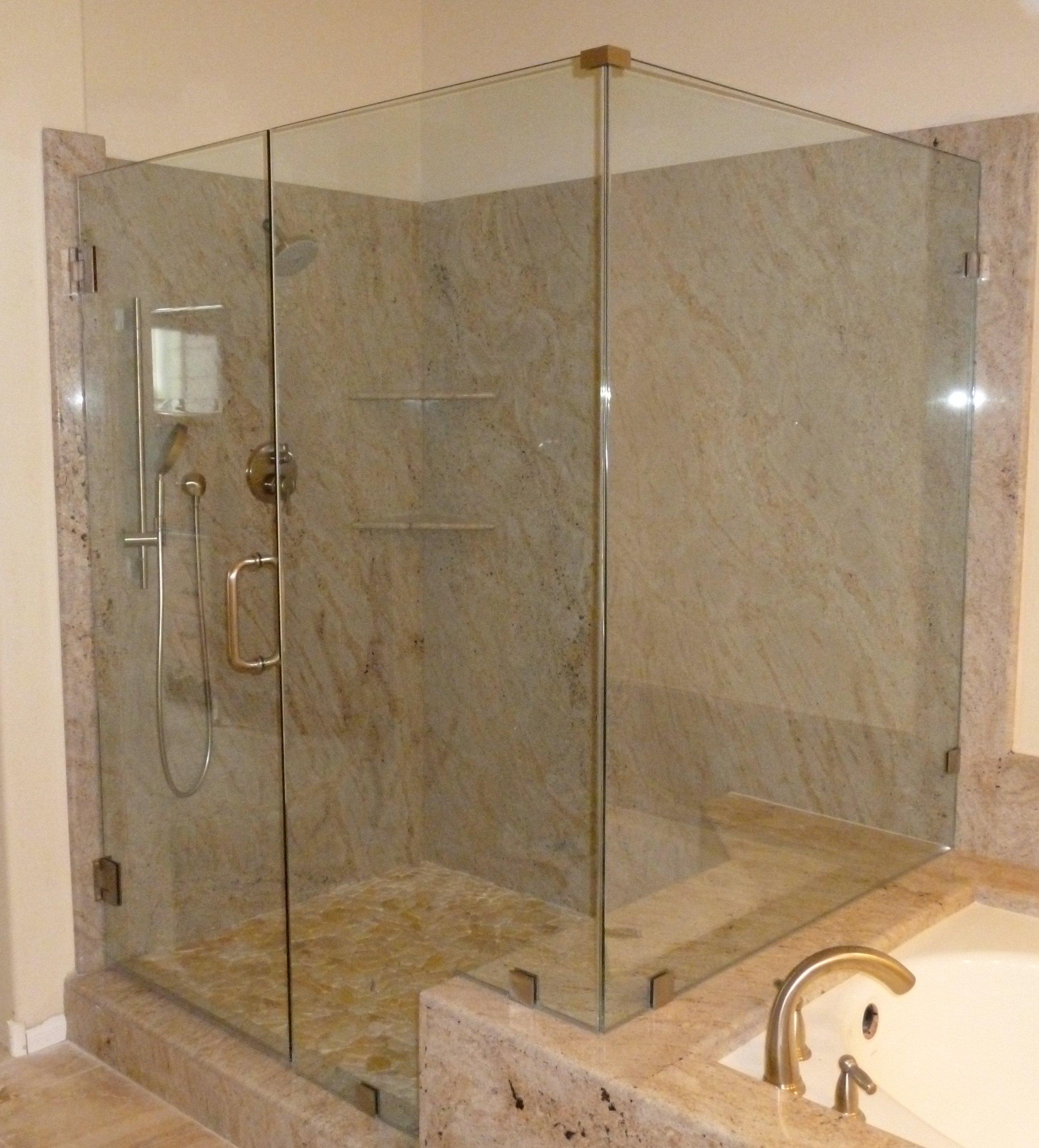 Shower Doors Enclosures Orange Mirror And Glass