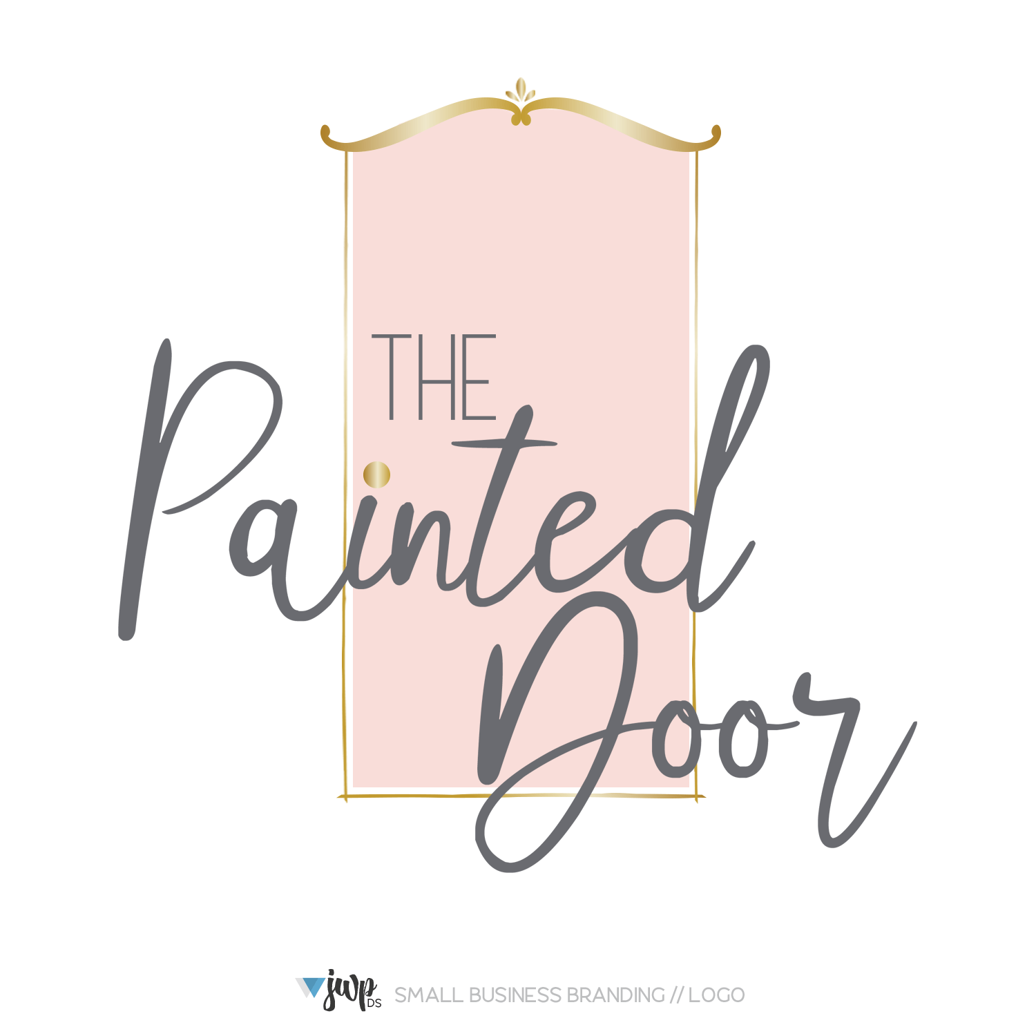 Mod Mavens + Co Logo Design || The Painted Door