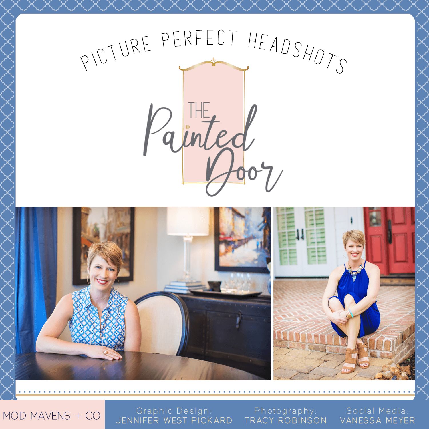 The Painted Door Picture Perfect Branding || Mod Mavens + Co