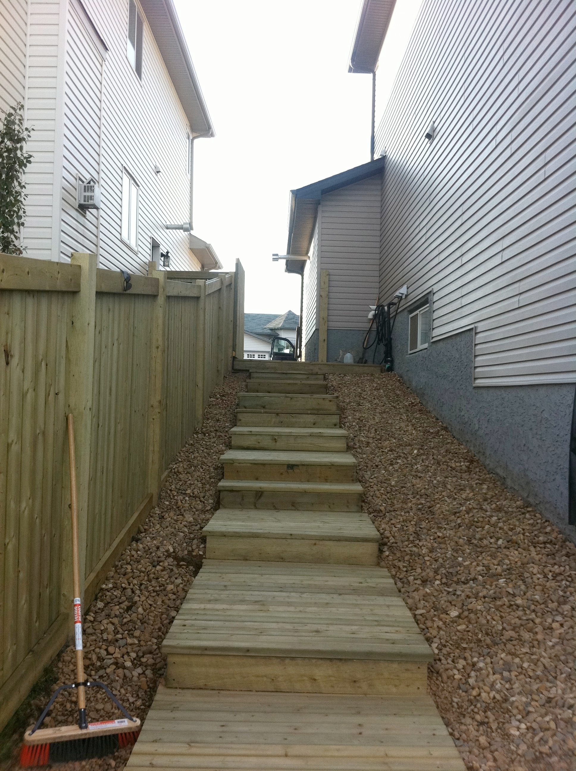 Stairway/Retaining Wall Project