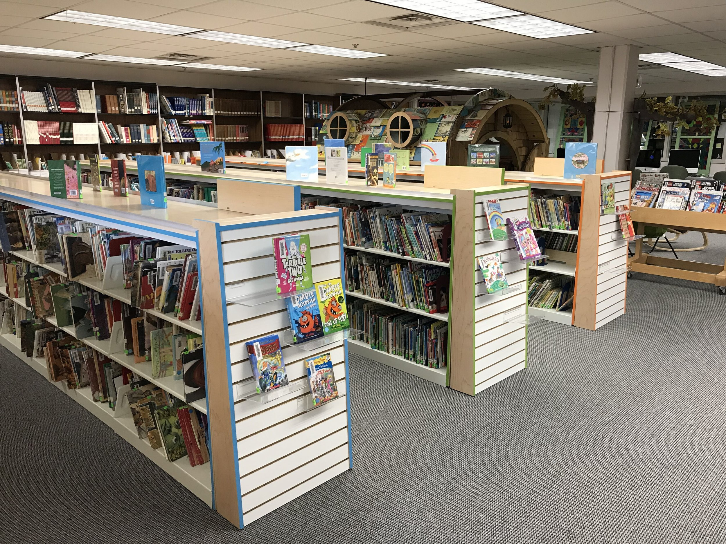 Minnehaha Academy MS/LS Library