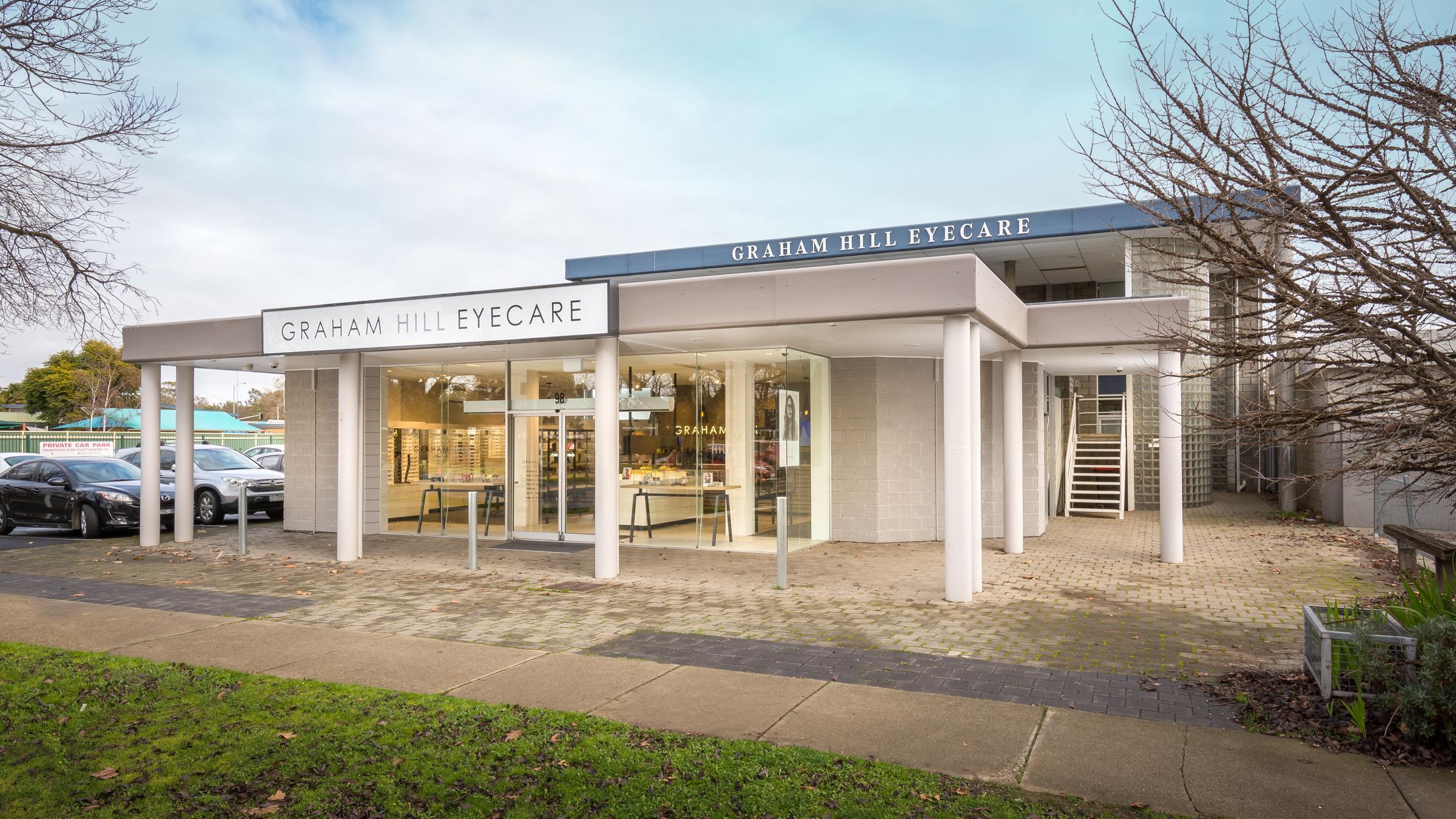 Graham Hill Eyecare • 98 Maude St Shepparton