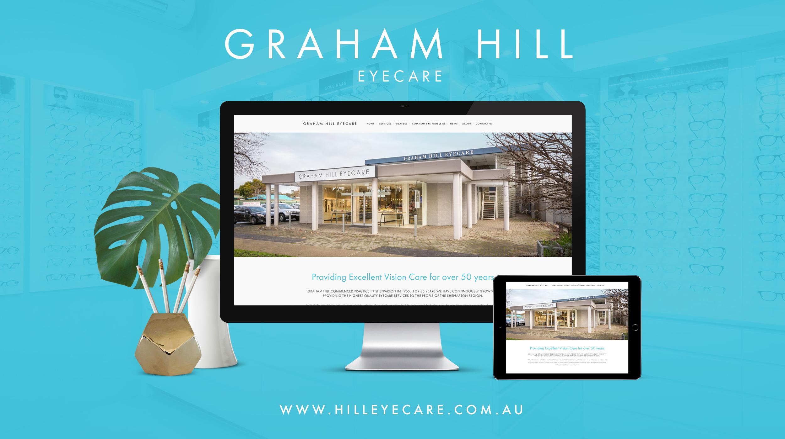 Graham Hill Eyecare • New Website