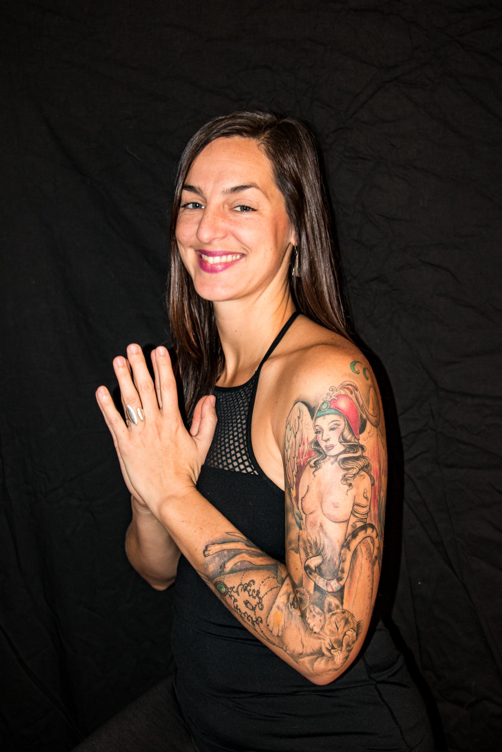 Lindsey Britt yin yoga instructor teacher Anchorage