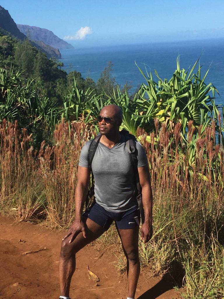 Michael hiking.png alaska yoga teacher hot yoga