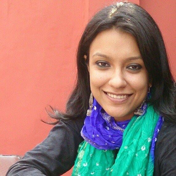Journalist Pritha Chatterjee