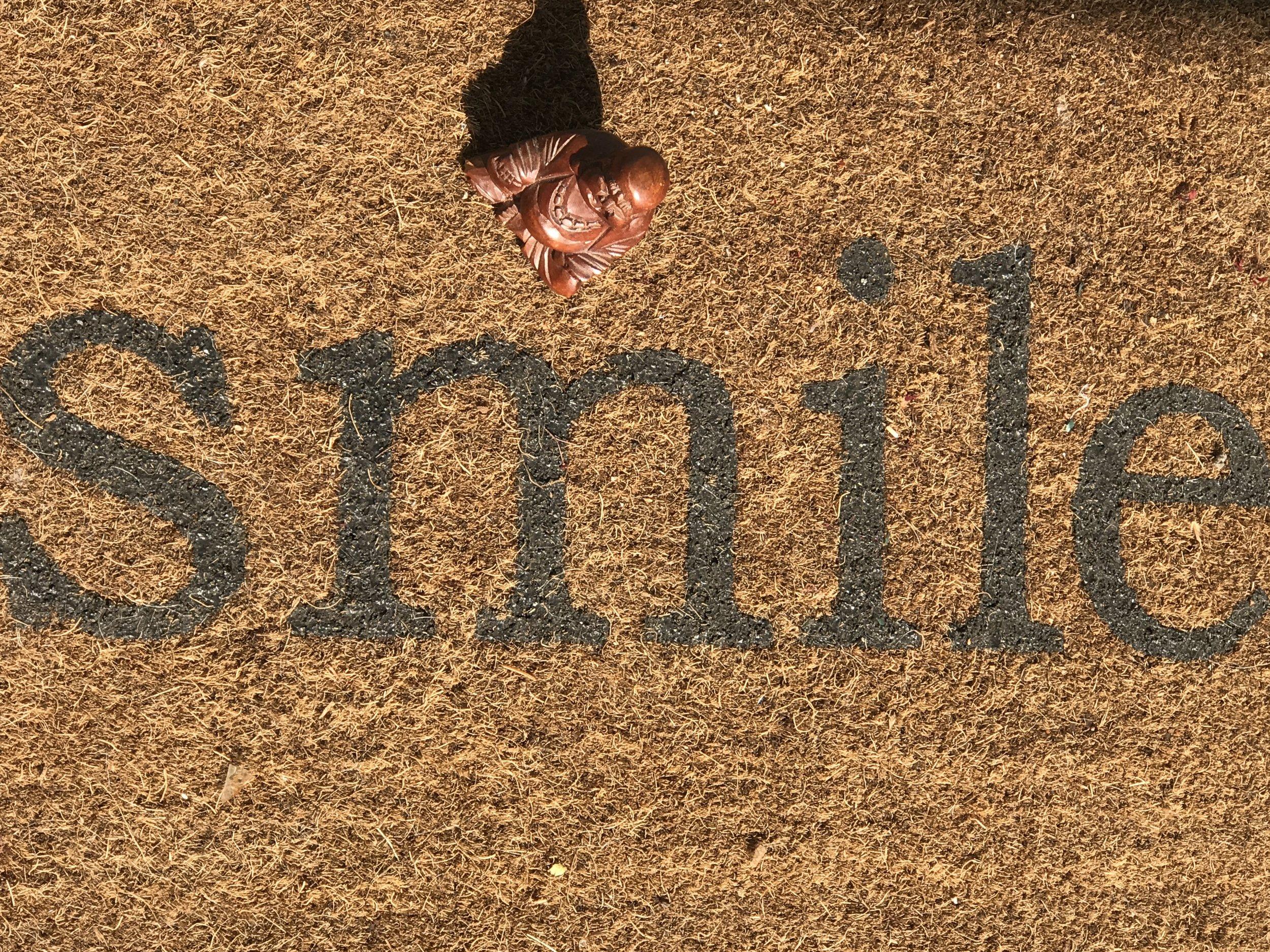 """Buddha smiles"" copyright 2019 Cleveland Edits"