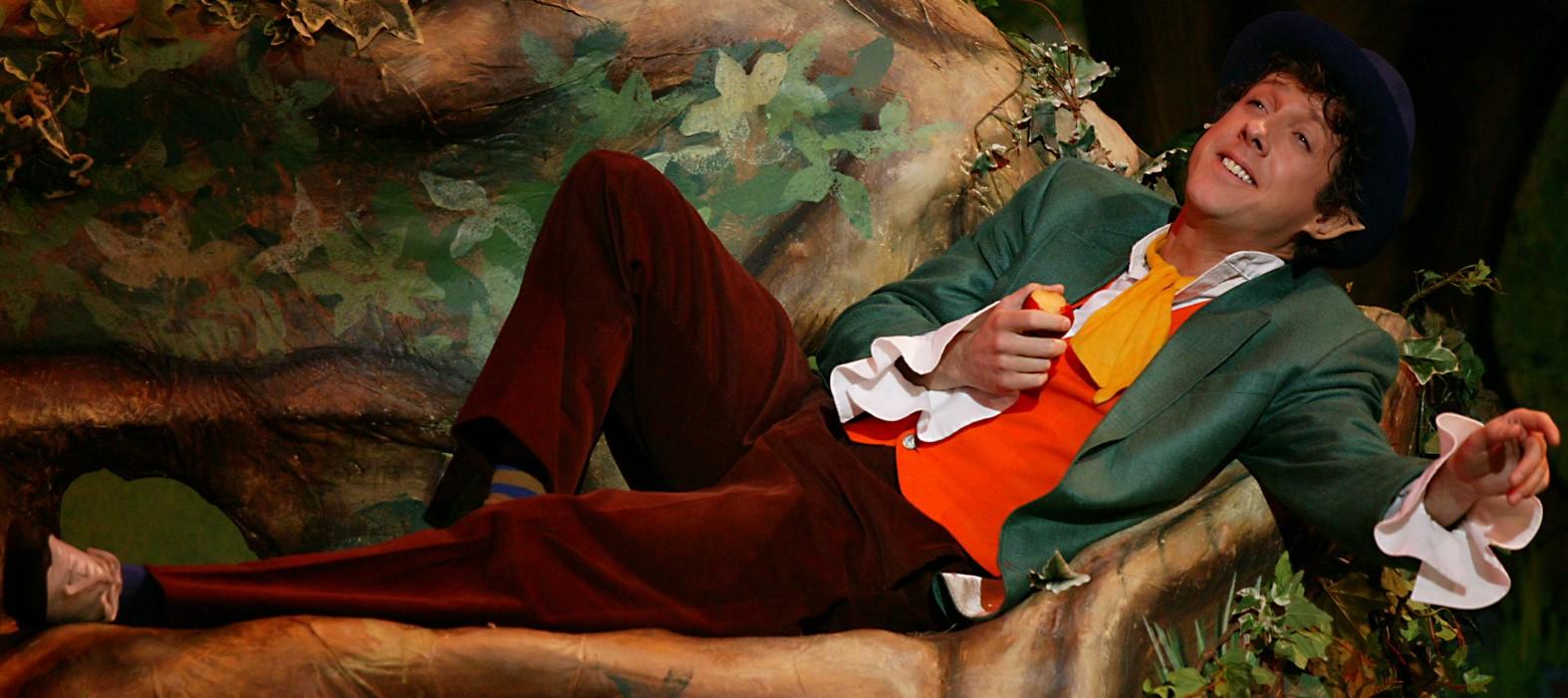 As OG the Leprechaun in FINIAN'S RAINBOW