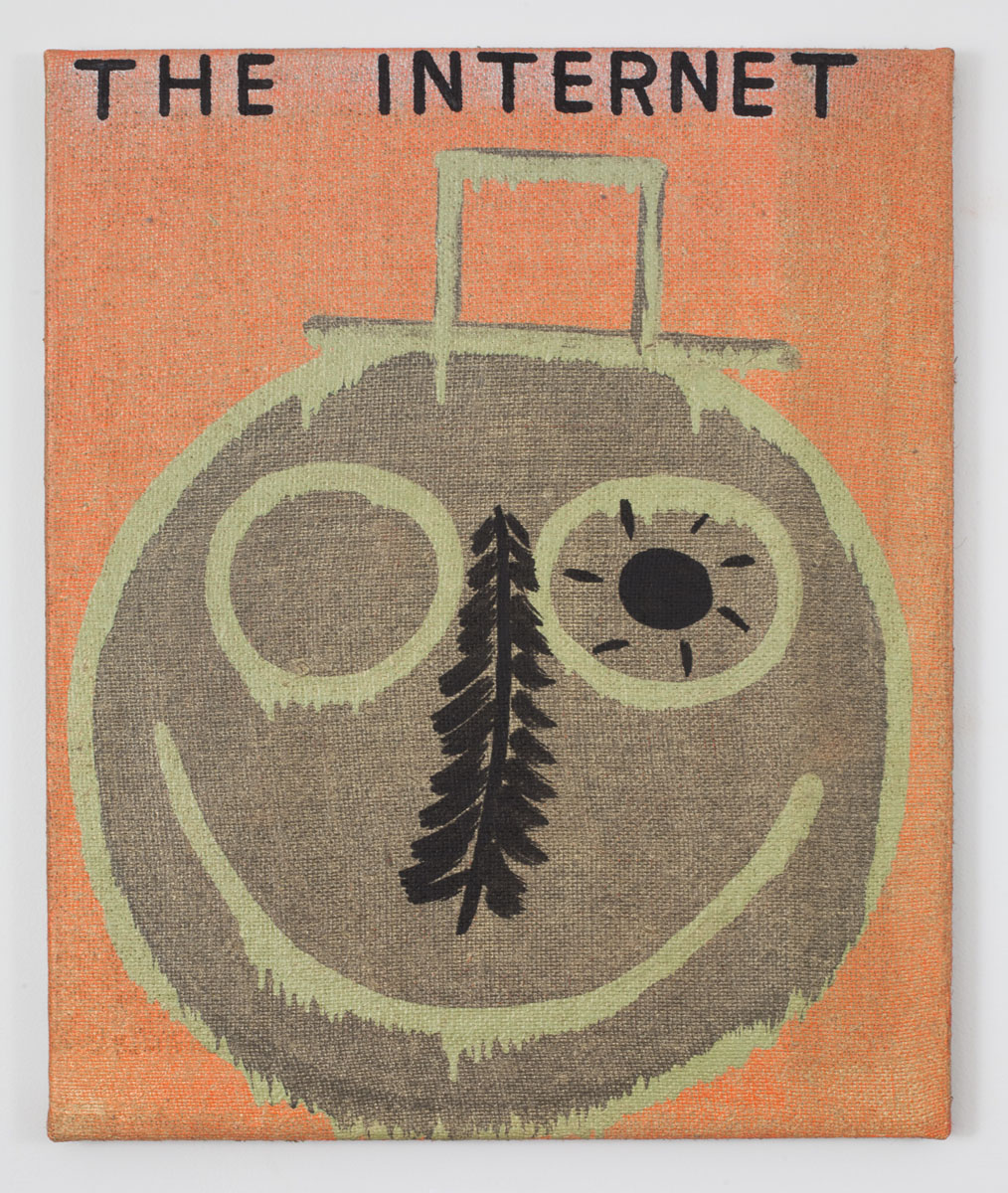 "The Internet  oil on linen 24"" x 20"" 2014"