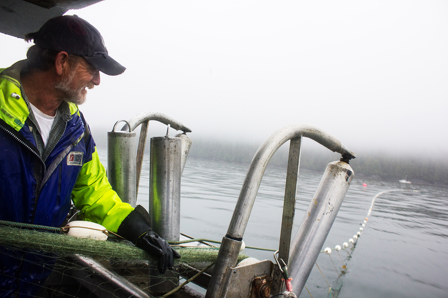 Bob Burkosky, Captain of the F/V BC Maid.